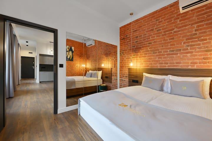 Krzywa Kamienica - Apartament 1 z balkonem