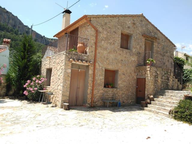 Casas de los Abuelos. Casa de Piedra