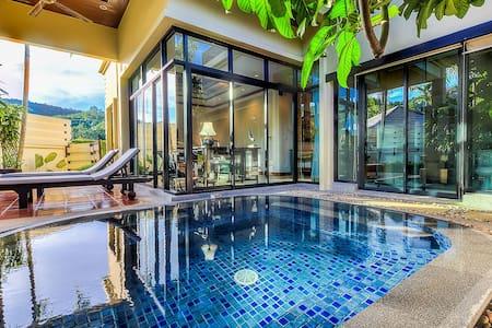 1-bedroom Luxury Bali style Villa in Naiharn Rawai
