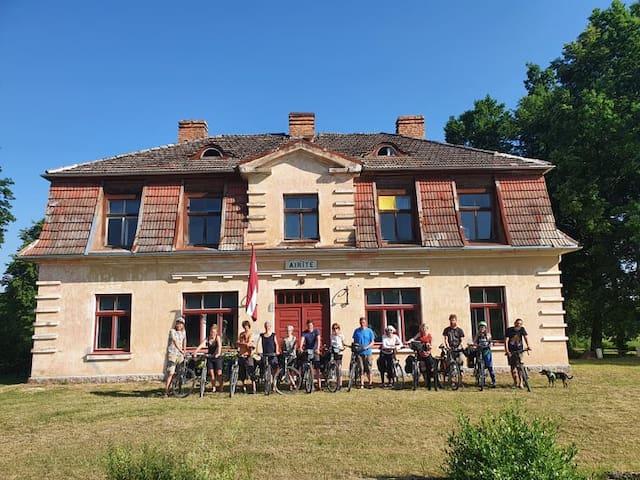 Zirņi parish的民宿