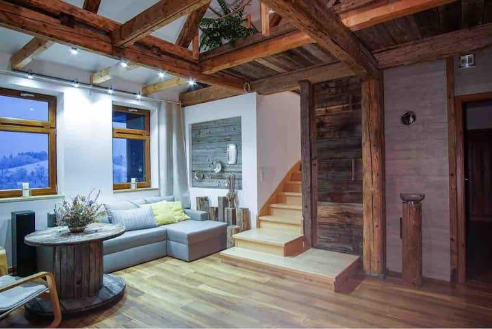 Noclegi Rabka Zdrój - Apartament Willa Chryzantema