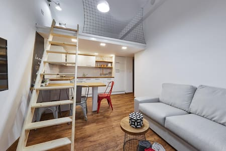 Apartment With Galery, City Center, FREE Bikes
