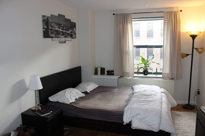Spacious room & attached bath in the heart of NYC