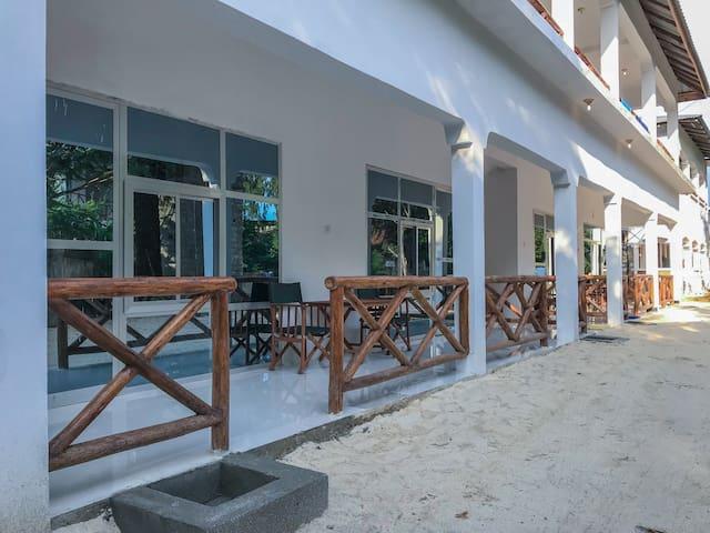 Nungwi Beach Studio C with AC priv bathroom