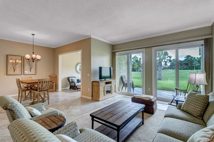 Breathtaking golf course views from this Sawgrass condo (TC - 65)