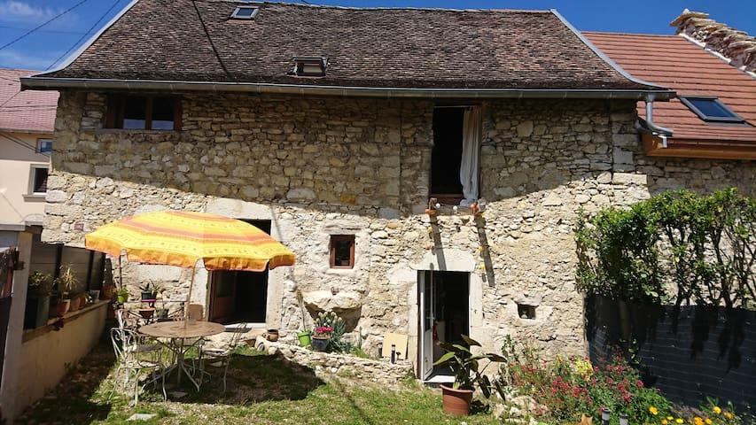 Saint-Victor-de-Morestel的民宿