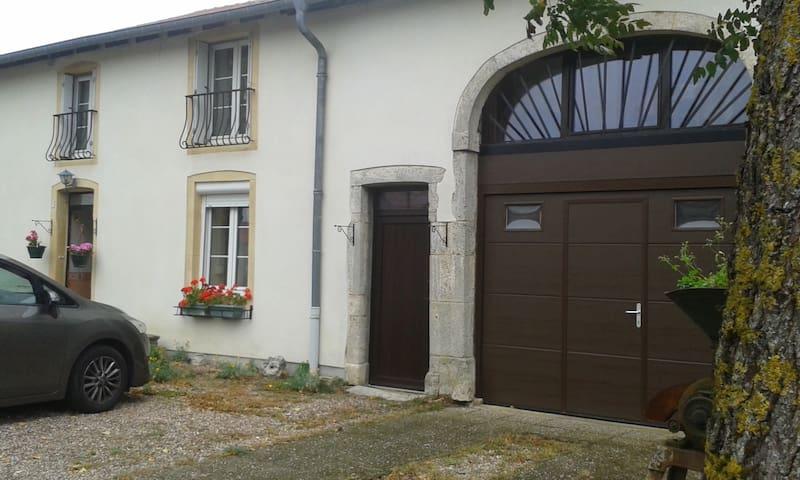 Bazoncourt的民宿