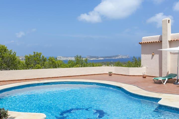 Ibiza Villa Can Mar at Cala Compte / Cala Conta