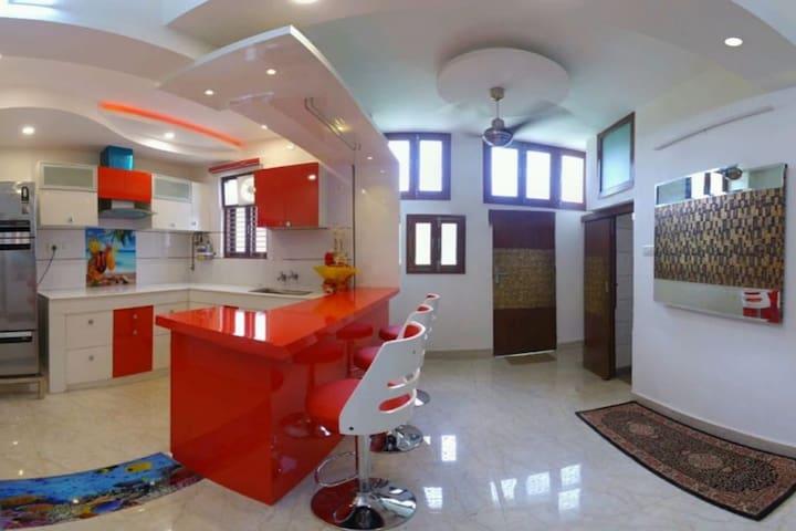 新德里的民宿