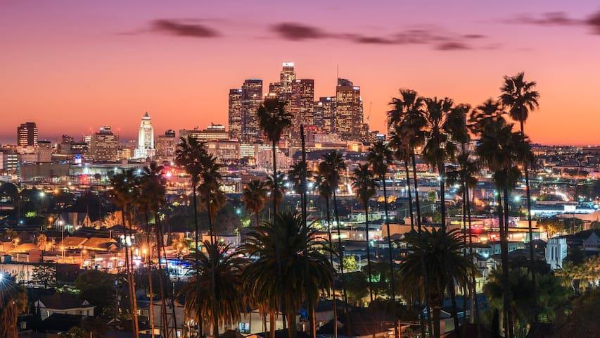洛杉矶的民宿