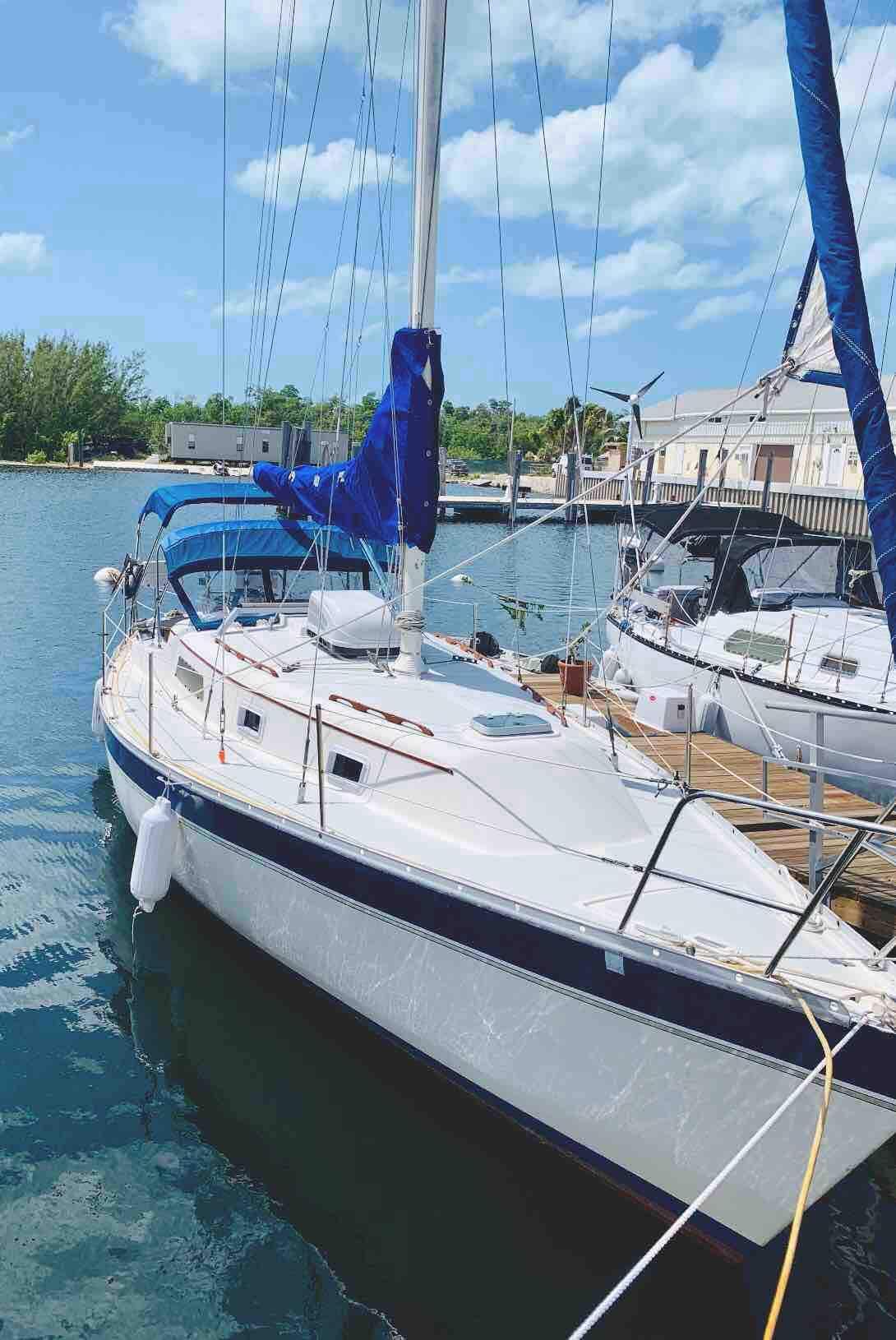 "1984, 32 foot Irwin sailboat  ""Sea Raven Six"""