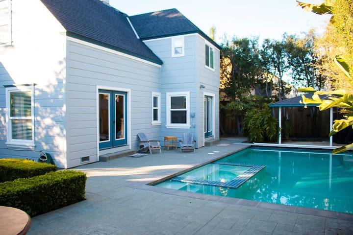 Santa Cruz Beach House w/ Pool&Spa