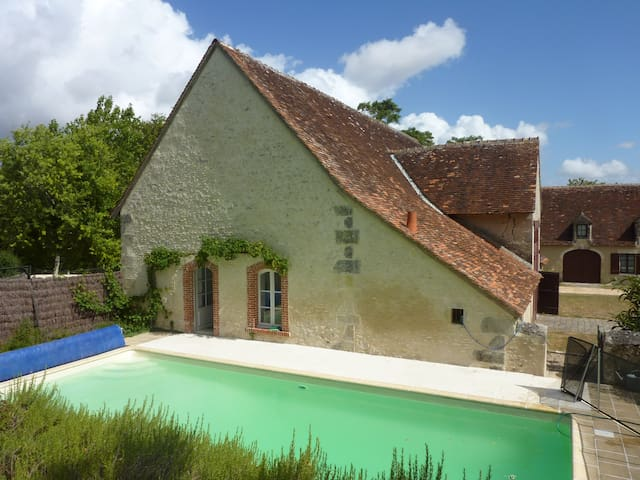 Charming house in chateau outbuildings near Loches