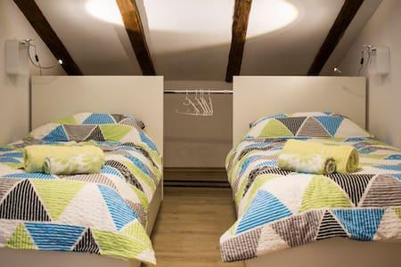 Quiet 2 single beds w/ kitchenette, Vipava Valley
