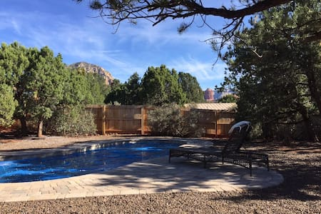Tranquility Base Haven with Hot Tub and Pool!