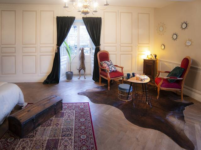 Double room-Standard-Private Bathroom-Park View-Chambre sur jardin