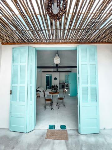 Praia do Cabelo Gordo的民宿
