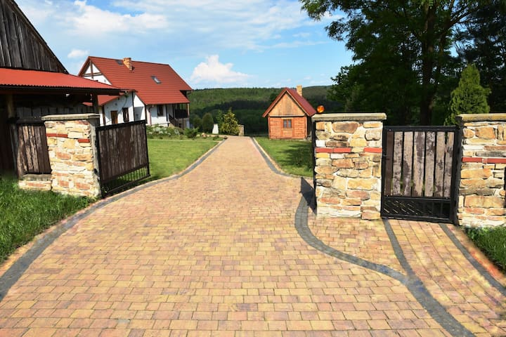 Stara Łagowica的民宿