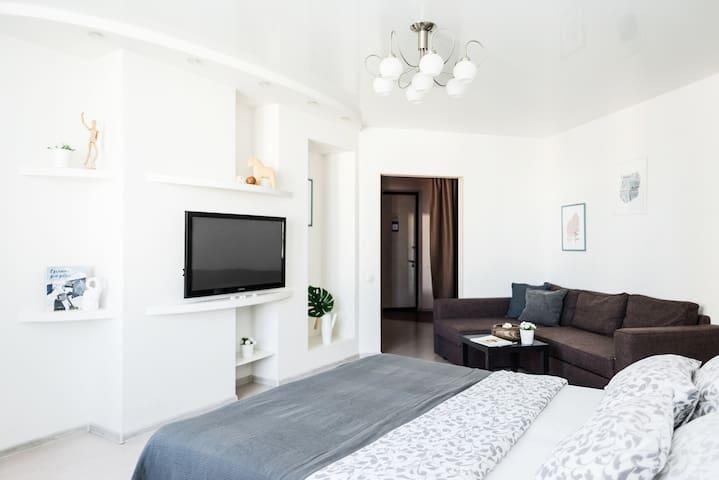 Просторная квартира в новом доме