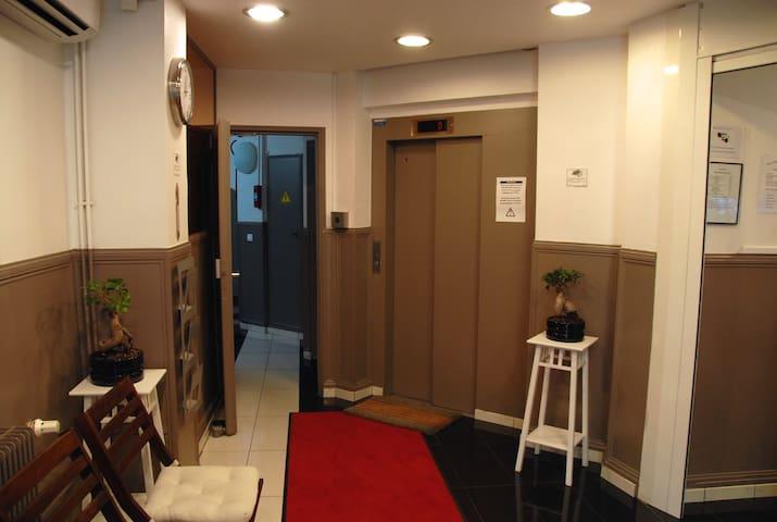 chambre double dans un hotel