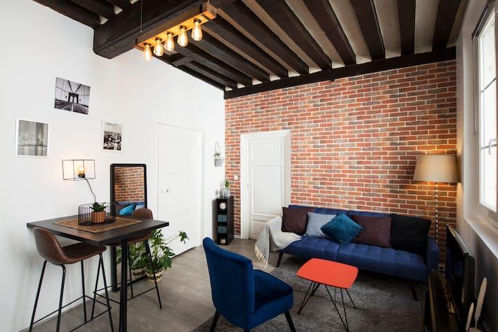 Appartement avec extérieur en centre Historique