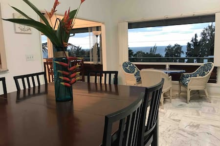Ocean view unit close to the heart of Hilo