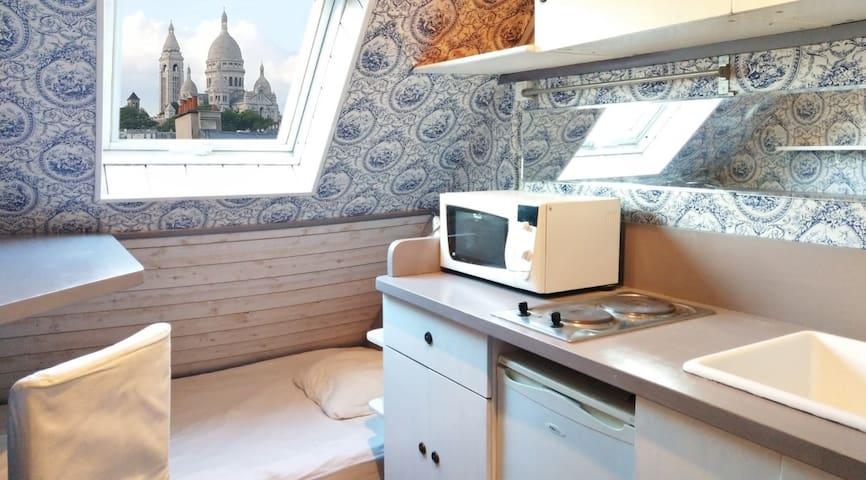 Chambre avec vue sur Montmartre