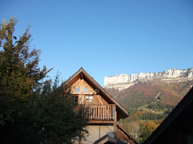 Entremont-le-Vieux的民宿