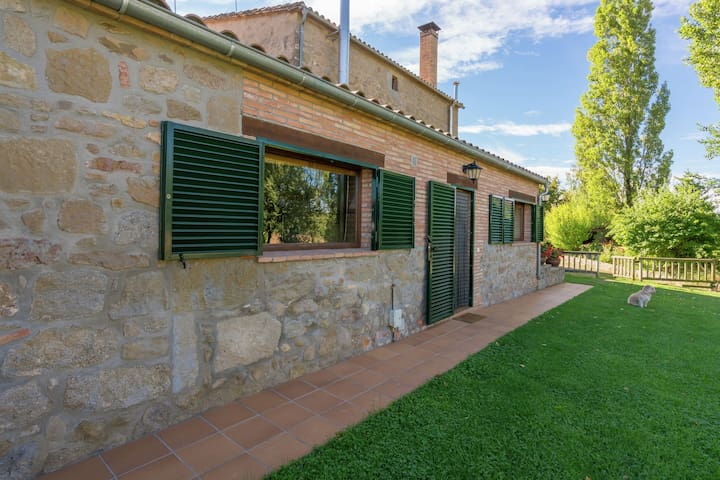 Rural cottage in the Catalonian Pre-Pyrenees