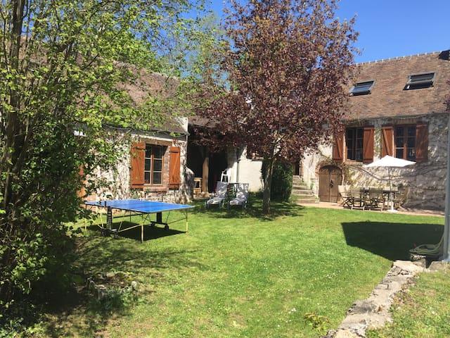 Courlon-sur-Yonne的民宿