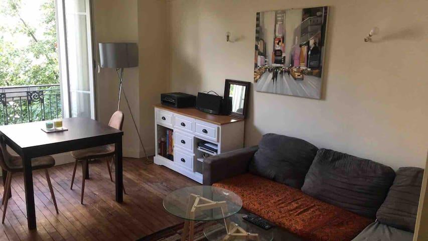 Appartement 37m2 15e arrondissement idéal couple
