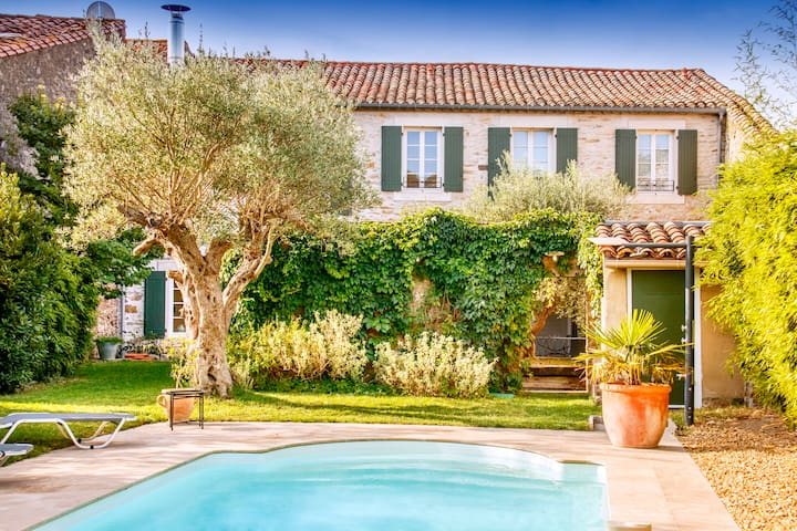 Beautiful old French Village House