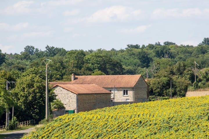 Saint-Martin-du-Clocher的民宿