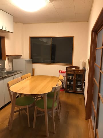 Good view 1BR house only 5min walking to JRstation