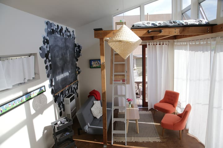 Loft in the Heights