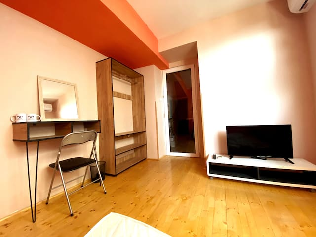 Superior Double Bed Private Shared Bathroom