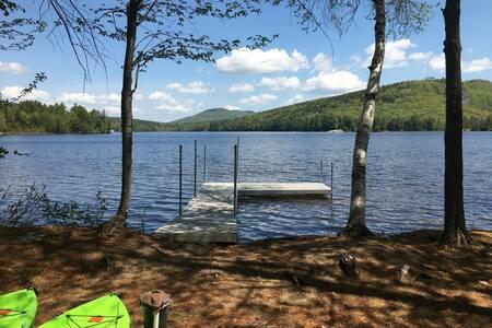 Camp Wigwam - Lakefront Cottage on North Pond