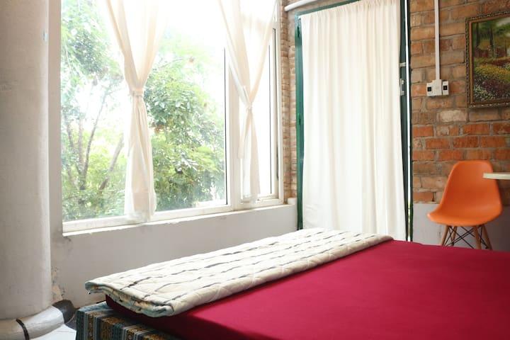 Garden view - Nha Que home-stay