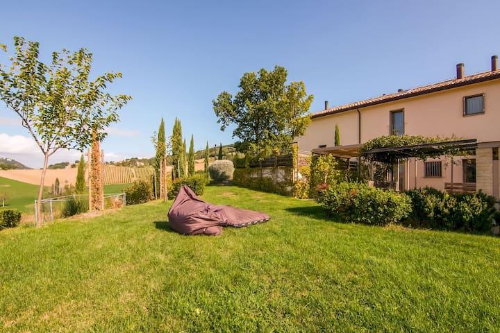 Montefiore Conca - Rimini的民宿