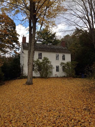 Stately historic home in Mansfield