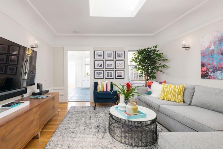 Bernal Bliss - Top Floor 2BD, 1BA Apartment