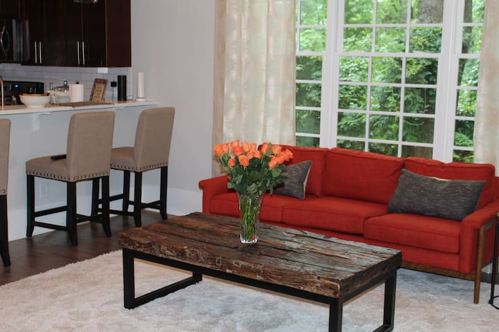 Atlanta Airport Private Suite with bath & parking