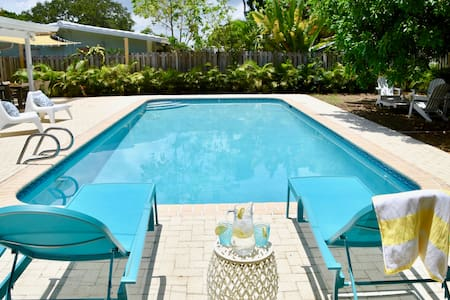 •Sunhouse• Private pool oasis w BBQ•Includes bikes