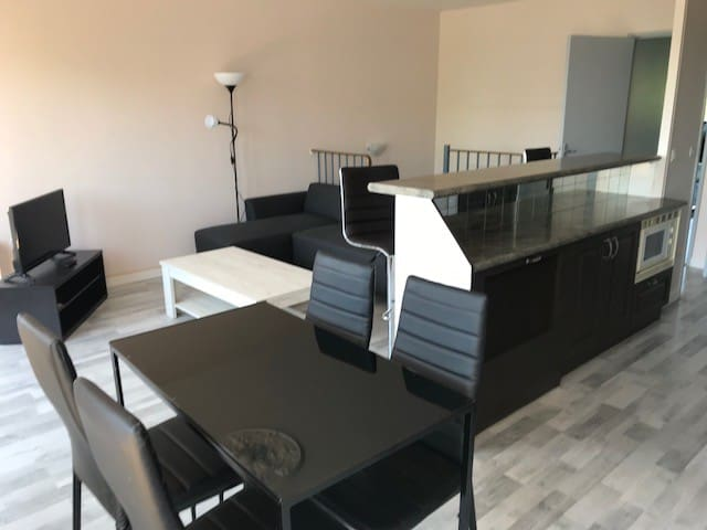 Modern apartment of 3 rooms - Cergy Prefecture