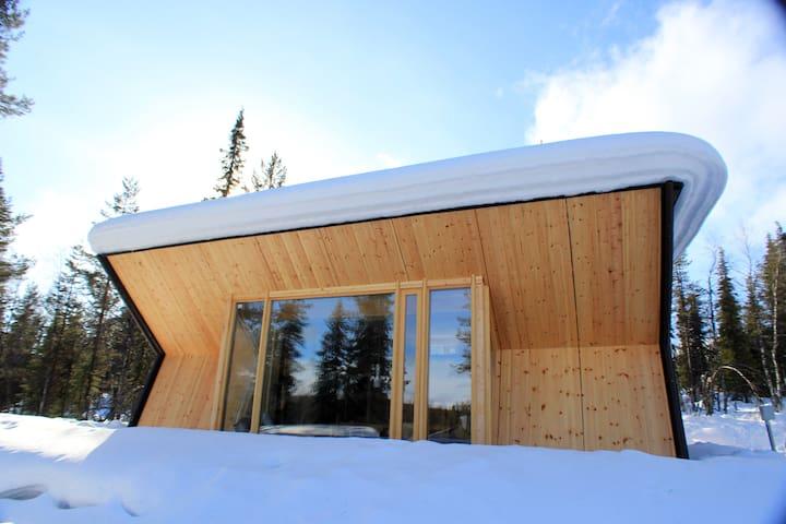 Villa Sivakka ❄ Lakeside Cabin with Amazing Views