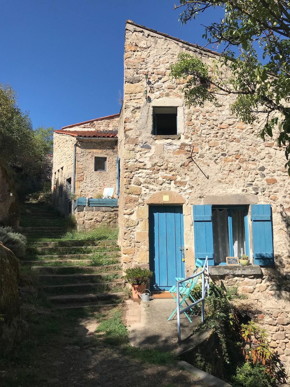 La maison du Fort à Champeix en Auvergne