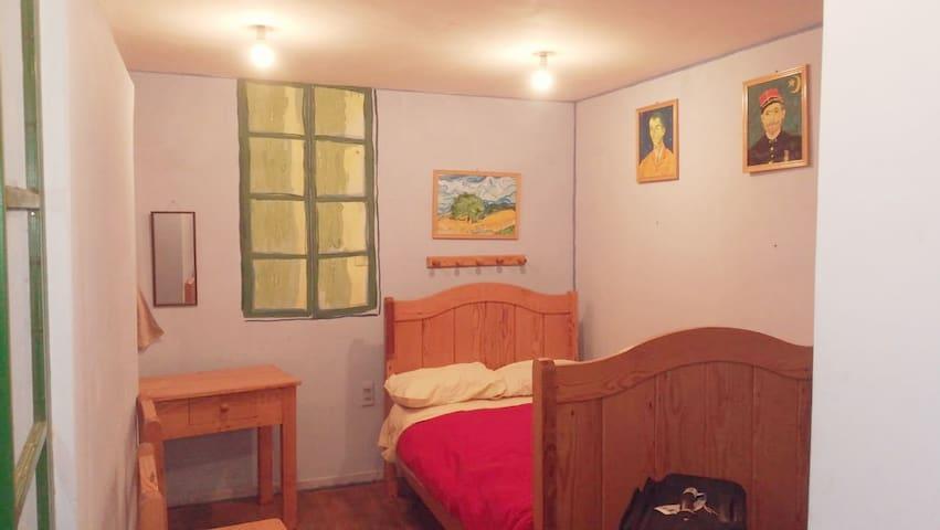 Van Gogh Basement Bedroom