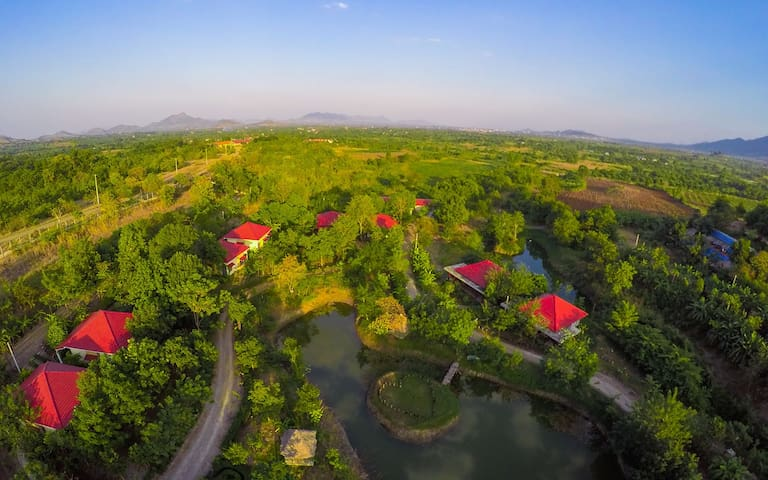 Relaxing Eco Resort in NW Cambodia