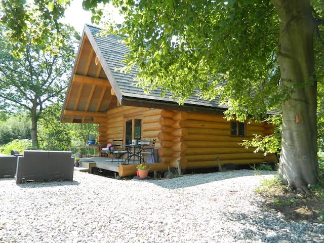 Traditional Log Cabin in the Lakes