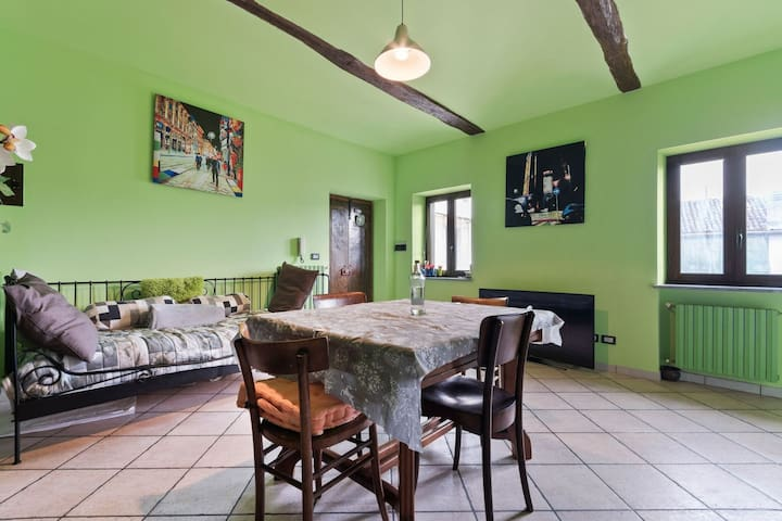 Peaceful Apartment in Frazione Sessant with Garden